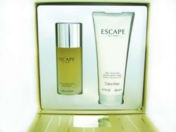 Calvin Klein Escape for Men 100ml + 200ml - Zestaw