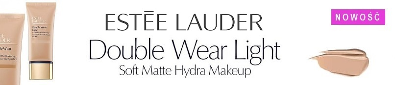 Nowość od Estee Lauder - Double Wear Light Soft Matte Hydra Makeup!