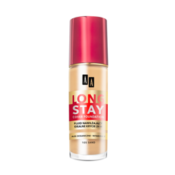 AA Long Stay Cover Foundation 105 Sand 35ml