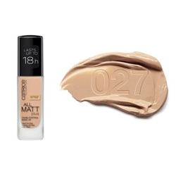 All Matt Plus Shine Control Make Up 18H podkład matujący 027 Amber Beige 30ml
