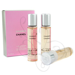 Chanel Chance Eau Tendre Twist And Spray 3x20ml edt Wkłady