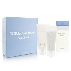 Dolce Gabbana Light Blue 100ml edt + 100ml + 100ml