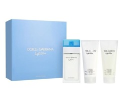 Dolce&Gabbana Light Blue Women edt 100ml + krem do ciała 100ml + żel pod prysznic 100ml