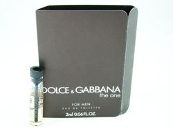 Dolce & Gabbana The One For Men 2ml - Woda Toaletowa - Próbka