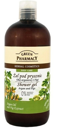 GREEN PHARMACY Shower Gel Olejek Arganowy i Figi 500ml