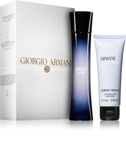 Giorgio Armani Code 75ml edp + 75ml body lotion