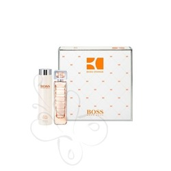 Hugo Boss Orange 75ml edt + 200ml