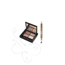 PUPA I Love Gold Kit 4 Eyes palette + Mini Multiplay - Zestaw