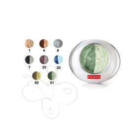 PUPA Luminys Duo Baked Eyeshadow Multi-Effect 2.2g - 51 Green/Golden Green