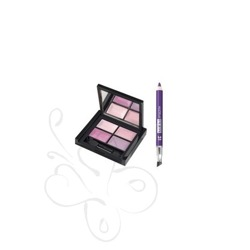 PUPA Miss Pink Kit 4 Eyes palette + Mini Multiplay - Zestaw