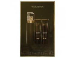 SET HUGO BOSS Nuit Pour Femme Travel Edition EDP spray 75ml + BODY LOTION 50ml + SHOWER GEL 50ml