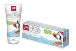 SPLAT Kids Natural Toothpaste For Kids 2-6 Years Fruit Ice-Cream 50ml